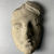 Possibly Greek. <em>Votive Mask</em>, 1000 B.C.E. Terracotta, 6 11/16 × 4 15/16 × 3 9/16 in. (17 × 12.5 × 9 cm). Brooklyn Museum, Purchase gift of Robert B. Woodward and Carll H. de Silver, 04.24. Creative Commons-BY (Photo: Brooklyn Museum, CUR.04.24_view03.jpeg)