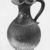 Italiote. <em>Oinochoe</em>, late 4th-3rd century B.C.E. Clay, slip, 9 15/16 x greatest diam. 5 7/8 in. (25.2 x 14.9 cm). Brooklyn Museum, Purchase gift of Robert B. Woodward and Carll H. de Silver, 04.9. Creative Commons-BY (Photo: Brooklyn Museum, CUR.04.9_NegC_print_bw-1.jpg)