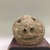 Pueblo, Keres. <em>Image Representing Smiling Face</em>, 1890-1900. Stone, 6 1/2 x 6 x 4 in.  (16.5 x 15.2 x 10.2 cm). Brooklyn Museum, Museum Expedition 1905, Museum Collection Fund, 05.588.7701. Creative Commons-BY (Photo: , CUR.05.588.7701_front.jpg)