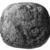 <em>Pounding Stone</em>, ca. 4400-2170 B.C.E. Quartzite, Diam. 2 1/4 in. (5.7 cm). Brooklyn Museum, Charles Edwin Wilbour Fund, 07.447.1000. Creative Commons-BY (Photo: , CUR.07.447.1000_NegID_07.447.965_GRPA_print_cropped_bw.jpg)