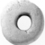 <em>Spindle Whorl</em>, ca. 4400-2170 B.C.E. Limestone, 1 × Diam. 1 5/16 in. (2.5 × 3.4 cm). Brooklyn Museum, Charles Edwin Wilbour Fund, 07.447.248. Creative Commons-BY (Photo: , CUR.07.447.248_NegID_07.447.247_GRPA_print_cropped_bw.jpg)