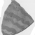 <em>Fragment from Rim of Bowl</em>, ca. 4400-3100 B.C.E. Clay, Greatest length 2 15/16 in. (7.5 cm). Brooklyn Museum, Charles Edwin Wilbour Fund, 07.447.487a. Creative Commons-BY (Photo: , CUR.07.447.487a_NegID_07.447.405GRPA_print_cropped_bw.jpg)