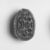 <em>Scarab with Magical Hieroglyphs</em>, ca. 1630-1539 B.C.E. Steatite, glaze, 7/16 x 5/16 x 5/8 in. (1.1 x 0.8 x 1.6 cm). Brooklyn Museum, Charles Edwin Wilbour Fund, 07.447.716. Creative Commons-BY (Photo: , CUR.07.447.716_NegID_05.354GRPA_print_cropped_bw.jpg)
