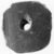 <em>Nine Perforated Discs</em>, ca. 4400-2675 B.C.E. Clay, 07.447.790: Diam. 1 11/16 in. (4.3 cm). Brooklyn Museum, Charles Edwin Wilbour Fund, 07.447.790a-i. Creative Commons-BY (Photo: , CUR.07.447.790h_NegID_07.447.790GRPA_print_cropped_bw.jpg)