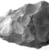 <em>Axe Head</em>, ca. 4400-2170 B.C.E. Gray chert, 2 5/16 x 7/8 x 2 15/16 in. (5.9 x 2.3 x 7.5 cm). Brooklyn Museum, Charles Edwin Wilbour Fund, 07.447.998. Creative Commons-BY (Photo: , CUR.07.447.998_NegID_07.447.989GRPA_cropped_print_bw.jpg)