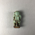 <em>Small Figure of Bes</em>, 664-31 B.C.E. Faience, 1 3/4 × 7/8 × 9/16 in. (4.5 × 2.2 × 1.4 cm). Brooklyn Museum, Charles Edwin Wilbour Fund, 08.480.88. Creative Commons-BY (Photo: , CUR.08.480.88_view02.jpg)