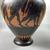 Greek. <em>Black-Figure Amphora</em>, late 6th century B.C.E. Clay, slip, 9 5/8 × Diam. 6 in. (24.5 × 15.3 cm). Brooklyn Museum, Gift of Robert B. Woodward, 09.35. Creative Commons-BY (Photo: Brooklyn Museum, CUR.09.35_view07.jpg.jpg)