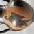 Greek. <em>Black-Figure Amphora</em>, late 6th century B.C.E. Clay, slip, 9 5/8 × Diam. 6 in. (24.5 × 15.3 cm). Brooklyn Museum, Gift of Robert B. Woodward, 09.35. Creative Commons-BY (Photo: Brooklyn Museum, CUR.09.35_view08.jpg.jpg)