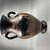 Greek. <em>Black-Figure Amphora</em>, ca. 500 B.C.E. Clay, slip, 9 1/4 × Diam. 5 11/16 in. (23.5 × 14.5 cm). Brooklyn Museum, Gift of Robert B. Woodward, 09.5. Creative Commons-BY (Photo: Brooklyn Museum, CUR.09.5_view01.jpg)