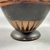 Greek. <em>Black-Figure Amphora</em>, ca. 500 B.C.E. Clay, slip, 9 1/4 × Diam. 5 11/16 in. (23.5 × 14.5 cm). Brooklyn Museum, Gift of Robert B. Woodward, 09.5. Creative Commons-BY (Photo: Brooklyn Museum, CUR.09.5_view10.jpg)