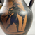 Greek. <em>Black-Figure Amphora</em>, ca. 500 B.C.E. Clay, slip, 9 1/4 × Diam. 5 11/16 in. (23.5 × 14.5 cm). Brooklyn Museum, Gift of Robert B. Woodward, 09.5. Creative Commons-BY (Photo: Brooklyn Museum, CUR.09.5_view13.jpg)