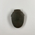 <em>Gray-green Heart Scarab</em>, ca. 727-30 B.C.E. Stone (soapstone?), 2 3/16 x 1 9/16 x 7/16 in. (5.6 x 4 x 1.1 cm). Brooklyn Museum, Museum Collection Fund, 11.687. Creative Commons-BY (Photo: , CUR.11.687_view01.jpg)