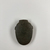 <em>Gray-green Heart Scarab</em>, ca. 727-30 B.C.E. Stone (soapstone?), 2 3/16 x 1 9/16 x 7/16 in. (5.6 x 4 x 1.1 cm). Brooklyn Museum, Museum Collection Fund, 11.687. Creative Commons-BY (Photo: , CUR.11.687_view04.jpg)