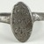 Coptic. <em>Finger Ring with Inscription</em>, 5th-7th century C.E. Iron, diameter: 3/4 in. (1.9 cm); bezel diameter: 9/16 in. (1.4 cm). Brooklyn Museum, Gift of Evangeline Wilbour Blashfield, Theodora Wilbour, and Victor Wilbour honoring the wishes of their mother, Charlotte Beebe Wilbour, as a memorial to their father, Charles Edwin Wilbour, 16.151. Creative Commons-BY (Photo: Brooklyn Museum (in collaboration with Index of Christian Art, Princeton University), CUR.16.151_view2_ICA.jpg)