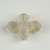 Coptic. <em>Cross Pendant</em>, 5th century C.E. Rock crystal, 5/8 × 13/16 in. (1.6 × 2.1 cm). Brooklyn Museum, Gift of Evangeline Wilbour Blashfield, Theodora Wilbour, and Victor Wilbour honoring the wishes of their mother, Charlotte Beebe Wilbour, as a memorial to their father, Charles Edwin Wilbour, 16.159. Creative Commons-BY (Photo: Brooklyn Museum (in collaboration with Index of Christian Art, Princeton University), CUR.16.159_view2_ICA.jpg)