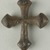Coptic. <em>Cross</em>, 5th-7th century C.E. Iron, 13/16 × 13/16 in. (2.1 × 2 cm). Brooklyn Museum, Gift of Evangeline Wilbour Blashfield, Theodora Wilbour, and Victor Wilbour honoring the wishes of their mother, Charlotte Beebe Wilbour, as a memorial to their father, Charles Edwin Wilbour, 16.370. Creative Commons-BY (Photo: Brooklyn Museum (in collaboration with Index of Christian Art, Princeton University), CUR.16.370a_ICA.jpg)