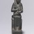 <em>Isis Holding Horus</em>, 664–404 B.C.E. Stone, 5 1/2 x 1 3/8 x 3 in. (14 x 3.5 x 7.6 cm). Brooklyn Museum, Gift of Evangeline Wilbour Blashfield, Theodora Wilbour, and Victor Wilbour honoring the wishes of their mother, Charlotte Beebe Wilbour, as a memorial to their father, Charles Edwin Wilbour, 16.430. Creative Commons-BY (Photo: Brooklyn Museum, CUR.16.430_front.jpg)