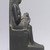 <em>Isis Holding Horus</em>, 664–404 B.C.E. Stone, 5 1/2 x 1 3/8 x 3 in. (14 x 3.5 x 7.6 cm). Brooklyn Museum, Gift of Evangeline Wilbour Blashfield, Theodora Wilbour, and Victor Wilbour honoring the wishes of their mother, Charlotte Beebe Wilbour, as a memorial to their father, Charles Edwin Wilbour, 16.430. Creative Commons-BY (Photo: Brooklyn Museum, CUR.16.430_right_profile.jpg)