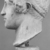 Roman. <em>Head, Apollo of the Omphalos</em>, 1st century C.E. copy of a 480 B.C.E. original. Marble, 12 11/16 x 7 5/8 in. (32.3 x 19.3 cm). Brooklyn Museum, Purchased with funds given by A. Augustus Healy and Robert B. Woodward Memorial Fund, 18.166. Creative Commons-BY (Photo: Brooklyn Museum, CUR.18.166_NegC_print_bw.jpg)