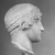 Roman. <em>Head, Apollo of the Omphalos</em>, 1st century C.E. copy of a 480 B.C.E. original. Marble, 12 11/16 x 7 5/8 in. (32.3 x 19.3 cm). Brooklyn Museum, Purchased with funds given by A. Augustus Healy and Robert B. Woodward Memorial Fund, 18.166. Creative Commons-BY (Photo: Brooklyn Museum, CUR.18.166_NegE_print_bw.jpg)