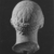 Roman. <em>Head, Apollo of the Omphalos</em>, 1st century C.E. copy of a 480 B.C.E. original. Marble, 12 11/16 x 7 5/8 in. (32.3 x 19.3 cm). Brooklyn Museum, Purchased with funds given by A. Augustus Healy and Robert B. Woodward Memorial Fund, 18.166. Creative Commons-BY (Photo: Brooklyn Museum, CUR.18.166_NegK_print_bw.jpg)