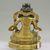 Nepalese. <em>Bodhisattva</em>, ca. 1600. Gilt bronze, Height: 6 3/4 in. (17.1 cm). Brooklyn Museum, Gift of Joseph H. Hazen, 1993.104.10. Creative Commons-BY (Photo: , CUR.1993.104.10_back.jpg)