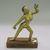 Nepalese. <em>Dakini</em>, ca. 1600. Gilt bronze, 7 x 5 in. (17.8 x 12.7 cm). Brooklyn Museum, Gift of Joseph H. Hazen, 1993.104.11. Creative Commons-BY (Photo: , CUR.1993.104.11.jpg)