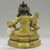 Nepalese. <em>Bodhisattva, Perhaps Avalokiteshvara Padmapani</em>, ca. 1600. Gilt bronze, Height: 6 3/4 in. (17.1 cm). Brooklyn Museum, Gift of Joseph H. Hazen, 1993.104.4. Creative Commons-BY (Photo: , CUR.1993.104.4_back.jpg)