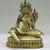 Nepalese. <em>Bodhisattva, Perhaps Lokeshvara</em>, ca. 1600. Gilt bronze, Height: 6 1/4 in. (15.9 cm). Brooklyn Museum, Gift of Joseph H. Hazen, 1993.104.5. Creative Commons-BY (Photo: , CUR.1993.104.5.jpg)