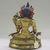 Nepalese. <em>Bodhisattva, Perhaps Lokeshvara</em>, ca. 1600. Gilt bronze, Height: 6 1/4 in. (15.9 cm). Brooklyn Museum, Gift of Joseph H. Hazen, 1993.104.5. Creative Commons-BY (Photo: , CUR.1993.104.5_back.jpg)