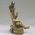 Nepalese. <em>Bodhisattva, Perhaps Lokeshvara</em>, ca. 1600. Gilt bronze, Height: 6 1/4 in. (15.9 cm). Brooklyn Museum, Gift of Joseph H. Hazen, 1993.104.5. Creative Commons-BY (Photo: , CUR.1993.104.5_side.jpg)
