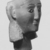 Ancient Near Eastern. <em>Head from a Votive Statue</em>, 2nd century B.C.E.-1st century C.E. Alabaster, 7 11/16 x 5 11/16 in. (19.5 x 14.4 cm). Brooklyn Museum, Bequest of Mrs. Carl L. Selden, 1996.146.2. Creative Commons-BY (Photo: , CUR.1996.146.2_NegC_print_bw.jpg)