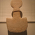 Anatolian. <em>Figure</em>, 3rd millennium B.C.E. Marble, 6 7/8 x 4 3/16 x 1/4 in. (17.4 x 10.6 x 0.6 cm). Brooklyn Museum, Bequest of Mrs. Carl L. Selden, 1996.146.5. Creative Commons-BY (Photo: Brooklyn Museum, CUR.1996.146.5_fertilegoddess.jpg)