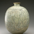 <em>Bottle</em>, last half of 15th century. Buncheong ware, stoneware with celadon glaze and white slip, 8 3/8 x 6 x 5 1/8 in. (21.3 x 15.3 x 13 cm). Brooklyn Museum, The Peggy N. and Roger G. Gerry Collection, 2004.28.106. Creative Commons-BY (Photo: Brooklyn Museum (in collaboration with National Research Institute of Cultural Heritage, , CUR.2004.28.106_view01_Heon-Kang_photo_NRICH_edited.jpg)