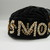 Iroquois. <em>Smoking Cap</em>, 1905. Velvet, beads, sequins, 6 1/2 × 3 3/4 × 9 in. (16.5 × 9.5 × 22.9 cm). Brooklyn Museum, Gift of the Edward J. Guarino Collection in memory of Edgar J. Guarino, 2016.11.18. Creative Commons-BY (Photo: , CUR.2016.11.18_view01.jpg)