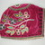 Woodlands. <em>Child's Cap</em>, ca. 1890s. Velvet, cloth, beads, 8 1/4 × 6 1/2 × 5 1/4 in. (21 × 16.5 × 13.3 cm). Brooklyn Museum, Gift of the Edward J. Guarino Collection in memory of Josephine M. Guarino, 2016.11.2. Creative Commons-BY (Photo: , CUR.2016.11.2_view02.jpg)