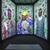 Ebony G. Patterson (Jamaican, born 1981). <em>... three kings weep ...</em>, 2018. Three channel digital color video installation with sound, 8 minutes 34 seconds Brooklyn Museum, Gift of the Contemporary Art Committee and purchase gift of Carla Chammas and Judi Roaman, 2019.11. © artist or artist's estate (Photo: Image courtesy of Monique Meloche Gallery, CUR.2019.11_MoniqueMelocheGallery_photograph.jpg)