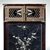 <em>Shrine Cabinet</em>, 17th-18th century. Lacquered wood inlaid with mother-of-pearl; metal hardware, 18 × 14 15/16 × 12 3/4 in. (45.7 × 37.9 × 32.4 cm). Brooklyn Museum, Gift of Nicholas Grindley, 2019.8.1 (Photo: , CUR.2019.8.1_front.jpg)