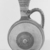 Cypriot. <em>Barrel-Jug</em>, 850-700 B.C.E. Terracotta, slip, 6 1/8 × 4 7/16 × 3 5/8 in. (15.5 × 11.2 × 9.2 cm). Brooklyn Museum, Bequest of William H. Herriman, 21.3. Creative Commons-BY (Photo: Brooklyn Museum, CUR.21.3_NegA_print_bw.jpg)