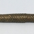 Edo. <em>Spear</em>, late 19th or early 20th century. Iron, wood, and cane, 43 11/16 × 1 15/16 in. (111 × 5 cm). Brooklyn Museum, Museum Expedition 1922, Robert B. Woodward Memorial Fund, 22.1578. Creative Commons-BY (Photo: , CUR.22.1578_detail03.jpg)