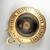 Greek. <em>Circular Pot</em>, 575-550 B.C.E. Clay, slip, 2 3/16 x Diam. of body 6 3/16 in. (5.5 x 15.7 cm). Brooklyn Museum, Gift of Mrs. Frederic H. Betts, 22.19. Creative Commons-BY (Photo: Brooklyn Museum, CUR.22.19_view02.jpg)