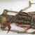 <em>Shadow Play Figure (Wayang golek)</em>. Wood, pigment, cloth, fiber, 9 7/16 × 25 9/16 in. (24 × 65 cm). Brooklyn Museum, Gift of Frederic B. Pratt, 23.251. Creative Commons-BY (Photo: , CUR.23.251_detail2.jpg)