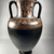 Floral Nolan Group. <em>Red-Figure Amphora</em>, ca. 480 B.C.E. Clay, slip, 13 3/16 × Diam. 7 1/16 in. (33.5 × 18 cm). Brooklyn Museum, Gift of Bianca Olcott, 29.1. Creative Commons-BY (Photo: Brooklyn Museum, CUR.29.1_view02.jpg)