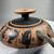 Greek. <em>Black-Figure Kylix</em>, 500-490 B.C.E. Clay, slip, 3 1/8 x Diam. 10 3/8 in. (8 x 26.3 cm). Brooklyn Museum, Frederick Loeser Fund, 33.399. Creative Commons-BY (Photo: Brooklyn Museum, CUR.33.399_view11.jpg)