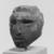 <em>Queen Tiye</em>, ca. 1352-1336 B.C.E. Sandstone, 3 3/4 × 3 × 3 1/2 in., 1.5 lb. (9.5 × 7.6 × 8.9 cm, 0.68kg). Brooklyn Museum, Charles Edwin Wilbour Fund, 33.55. Creative Commons-BY (Photo: , CUR.33.55_NegH1_print_bw.jpg)