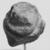 <em>Queen Tiye</em>, ca. 1352-1336 B.C.E. Sandstone, 3 3/4 × 3 × 3 1/2 in., 1.5 lb. (9.5 × 7.6 × 8.9 cm, 0.68kg). Brooklyn Museum, Charles Edwin Wilbour Fund, 33.55. Creative Commons-BY (Photo: , CUR.33.55_NegH_print_bw.jpg)