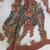 <em>Shadow Play Figure (Wayang kulit)</em>. Leather, pigment, wood, fiber, metal, 21 1/16 × 11 13/16 in. (53.5 × 30 cm). Brooklyn Museum, Brooklyn Museum Collection, 34.64. Creative Commons-BY (Photo: , CUR.34.64_detail2.jpg)
