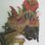 <em>Shadow Play Figure (Wayang kulit)</em>. Leather, pigment, wood, fiber, metal, 22 1/4 × 9 5/8 in. (56.5 × 24.5 cm). Brooklyn Museum, Brooklyn Museum Collection, 34.70. Creative Commons-BY (Photo: , CUR.34.70_detail1.jpg)
