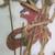 <em>Shadow Play Figure (Wayang kulit)</em>. Leather, pigment, wood, fiber, metal, 22 1/4 × 9 5/8 in. (56.5 × 24.5 cm). Brooklyn Museum, Brooklyn Museum Collection, 34.70. Creative Commons-BY (Photo: , CUR.34.70_detail2.jpg)
