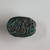 <em>Scarab</em>, 664-332 B.C.E., or later. Steatite, glaze, 9/16 × 1 1/8 × 1 5/8 in. (1.5 × 2.9 × 4.1 cm). Brooklyn Museum, Gift of Theodora Wilbour from the collection of her father, Charles Edwin Wilbour, 35.1137. Creative Commons-BY (Photo: , CUR.35.1137_view02.jpg)